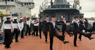 ДЕНЬ ВМФ НА ПАЛУБЕ «ПЕРЕКОПА»